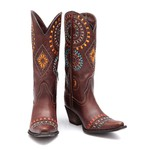 Bota Country Feminina Omaha - Rock Oil Camel