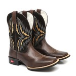 Bota Country Masculina Willis Café
