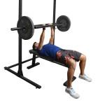 Barra H com 3 Pegadas Musculação