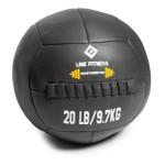 Wall Ball Em Couro Sintético 22lb \ 10kg