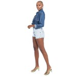 Shorts Jeans Feminino Mia Light