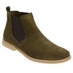 Chelsea Boot feminina N° 33/40 Escrete Verde Oliva 3301