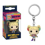 Chaveiro Birds of Prey - Harley Quinn Caution Tape (Arlequina) Pocket Funko Pop Keychain