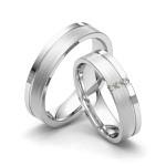 Alianças Roma ♥ Casamento e Noivado em Ouro 18K