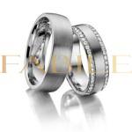 Alianças London ♥ Namoro e Compromisso em Prata 0,950