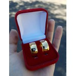 Alianças Gaya 10mm ♥ Casamento E Noivado Tungstênio