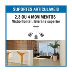 SUPORTE TV INCLINÁVEL LCD 10