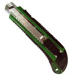 Estilete retrátil largo Auto Lock com lâmina de 18 mm - Carbografite