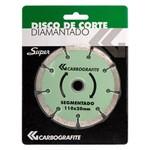 Disco de Corte Diamantado Segmentado Carbografite