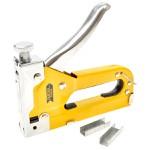 Grampeador Profissional 4-14 mm com Grampos Extras Fertak Tools 8501