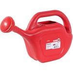 Regador plástico vermelho 5 litros Vonder