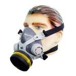 Respirador Máscara 1/4 Facial + 1 Cartuchos VO/GA Destra