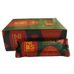 Barra Nuts Flowbar Nibs de Cacau Zero Display 12x30g