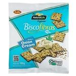 Biscofibras Orgânico Sabor Onion Cream 100g