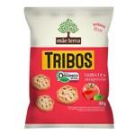 Biscoito Tribos Orgânico Tomate e Manjericão Display 7x25g