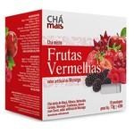 Chá Misto Frutas Vermelhas Sabor Morango Sachê 10 x 1,5g