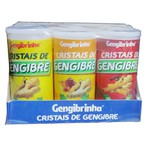 Cristais de Gengibre Misto Display 6 x 15g
