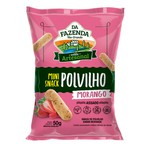 Da Fazenda Mini Snack Polvilho Sabor Morango Display 12x50g