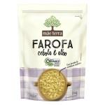Farofa de Cebola e Alho Orgânica 200g