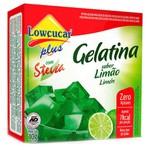 Gelatina Limão Com Stevia 10g