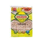 Torradas Okoshi Arroz Integral Orgânico Tradicional 24 unidades