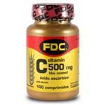 Vitamina C Film Coated FDC 100 comprimidos x 500mg