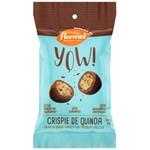YOW Crispie de Quinoa com Cobertura Chocolate Zero Display 8x35g