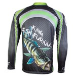 Camiseta de Pesca King Manga Longa - KFF10