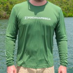 Camiseta com filtro UV50+ Focanapesca Verde