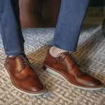 Sapato Masculino Brogue Vicenzo Whisky
