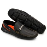 Mocassim Polo City Sneaker - Preto
