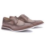 Sapato Masculino Brogue Derby Stonado Avelã 110007