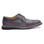 Sapato Masculino Brogue Derby Stonado Petróleo 110008