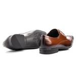 Sapato Social Masculino Couro Cromo Whisky 157