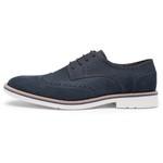 Sapato Casual Oxford Nobuck Marinho 621