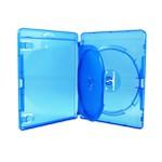 Box Dvd Blu-Ray Videolar Duplo Azul c/100un.
