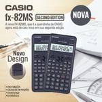 CALCULADORA CIENTÍFICA CASIO FX-82MS-2W 2ND EDITION PRETA