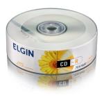 CD-R ELGIN 700MB/80MIN/52X - LOGO C/25UN.