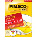 ETIQUETA INKJET+LASER CD100B 100FLS PIMACO