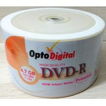 DVD-R 4.7GB / 16X OPTO DIGITAL - PRINTABLE c/100UN.