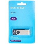 PEN DRIVE MULTILASER 4GB - PD586