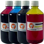 TINTA COMPATÍVEL HP - 500ML - BLACK
