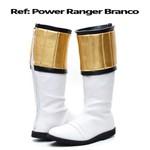 Bota Power Rangers Branco