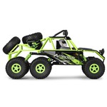 Wltoys 18628 1/18 2.4g 6wd Off-road Rock Crawler Acende Luz