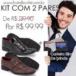 Kit Com 2 Pares 839VP/838FC + CARTEIRA