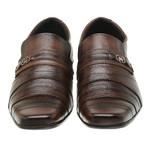 Sapato Social Em Couro Marrom 26Fc