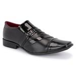 Sapato Social Preto 838 Vp