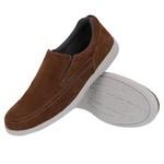 Sapato Sapatênis Masculino Casual em Couro Rato Galway 2021-3