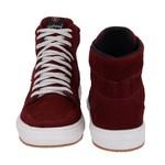 Sapatênis Masculino em Couro Vinho Sneakers Galway 505