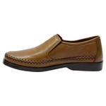 Sapatilha Masculina Conforto em Couro Whisky Galway 753